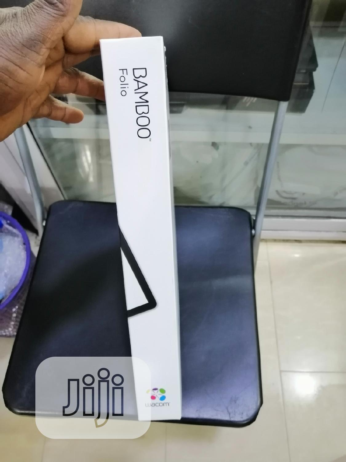 Wacom Bamboo Folio Digital Notebook Smartpad | Accessories for Mobile Phones & Tablets for sale in Ikeja, Lagos State, Nigeria