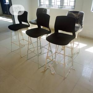 Good Quality Barstool With Strong Stainless Leg. | Furniture for sale in Abuja (FCT) State, Central Business District