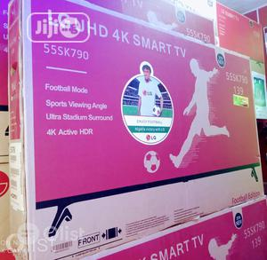 LG UHD 4K Smart TV (Netflix) Energy Saving Free Bracket   TV & DVD Equipment for sale in Lagos State, Apapa