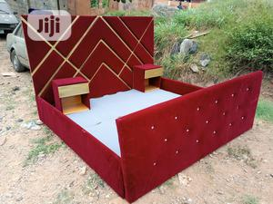 6by6feet Bedframes With 2 Bedside Drawers - King's Size Bed   Furniture for sale in Lagos State, Ikorodu