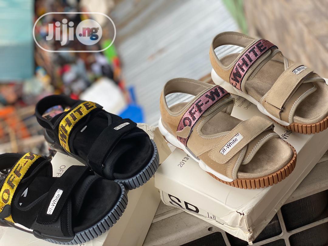 Off White Sandals in Lagos Island (Eko