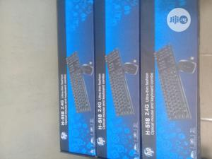 Hp Wireless Keyboard And Mouse | Computer Accessories  for sale in Lagos State, Ikeja