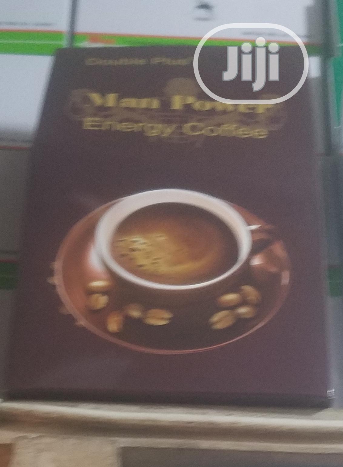 Double Plus Man Power Energy Coffee Tea