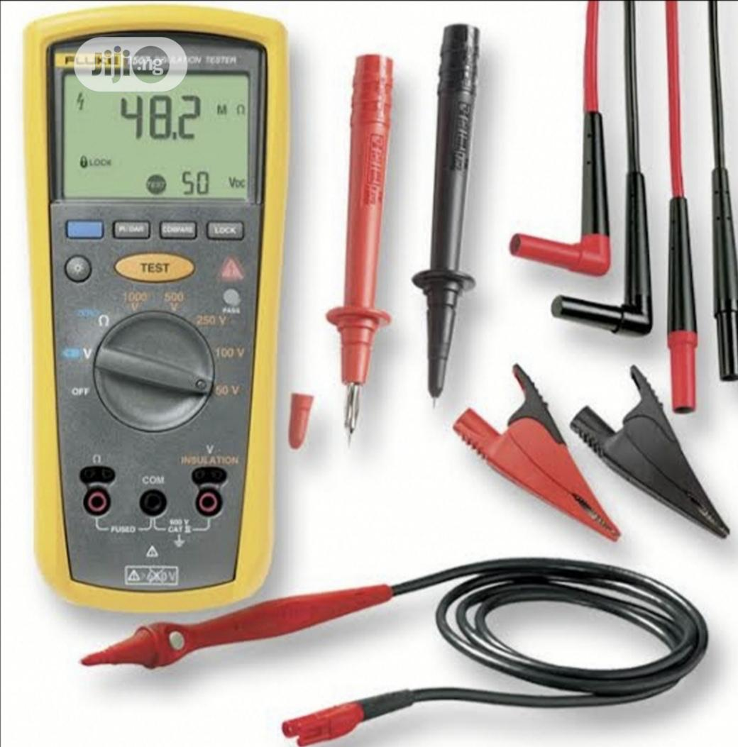 Fluke 1507 Insulation Resistance Tester | Measuring & Layout Tools for sale in Amuwo-Odofin, Lagos State, Nigeria