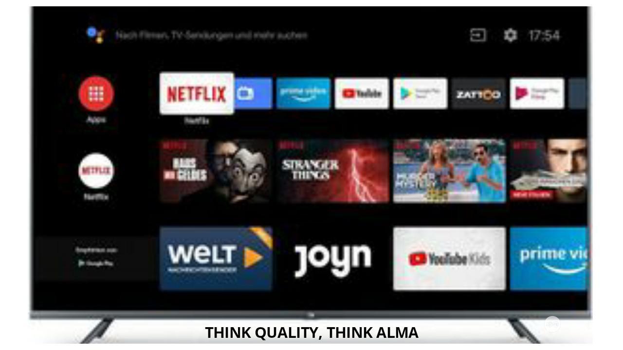 Alma 32inch Smart Full HD Television Jet Black