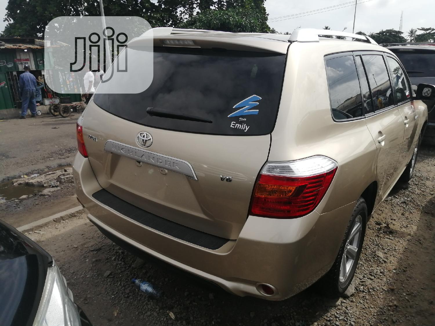 Toyota Highlander 2010 Gold   Cars for sale in Apapa, Lagos State, Nigeria