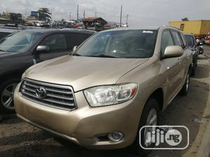 Toyota Highlander 2010 Gold   Cars for sale in Lagos State, Apapa