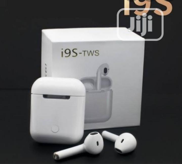 I9s Tws Wireless Bluetooth 4.1 Earpod | Headphones for sale in Ikeja, Lagos State, Nigeria