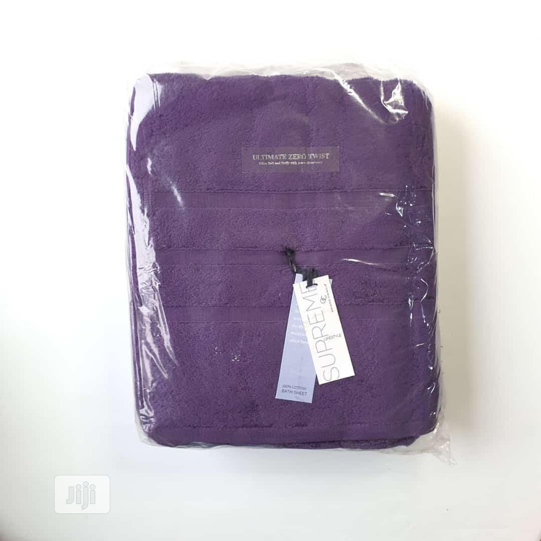 Bath Sheet Towel 2pcs | Home Accessories for sale in Lagos Island (Eko), Lagos State, Nigeria