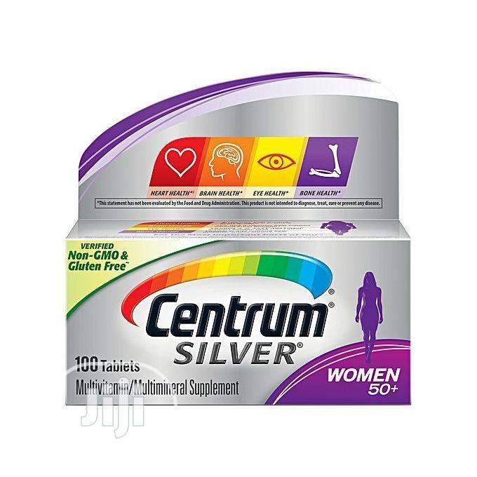 Centrum Silver Women 50+ Multivitamin Tablets 100tab Multivi