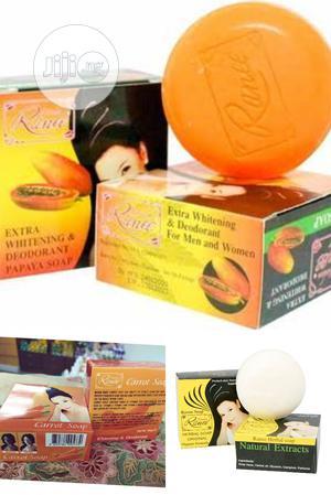 Madam Ranee Herbal, Papaya, Carrot Soap Thailand. Pack of 12   Bath & Body for sale in Lagos State, Amuwo-Odofin