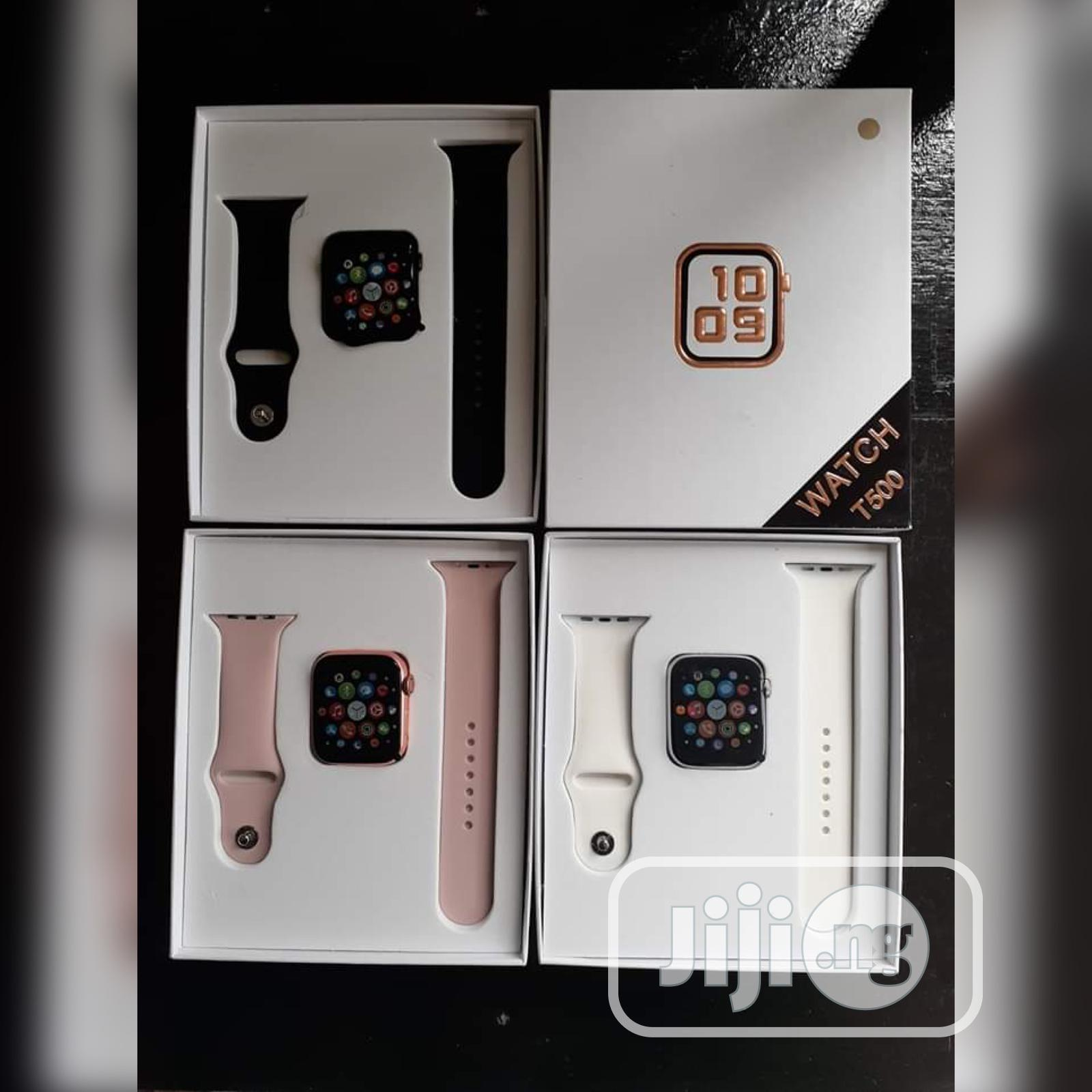 T500 Smartwatch Series   Smart Watches & Trackers for sale in Ikeja, Lagos State, Nigeria