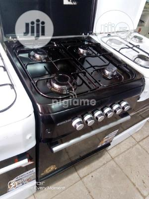 New Bruhm All Gas Burners 60 by 60 Oven With Blue Flame   Kitchen Appliances for sale in Lagos State, Ojo