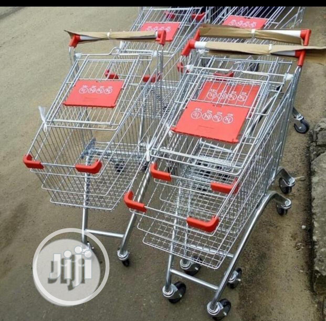 Now Design Supermarket Trolley
