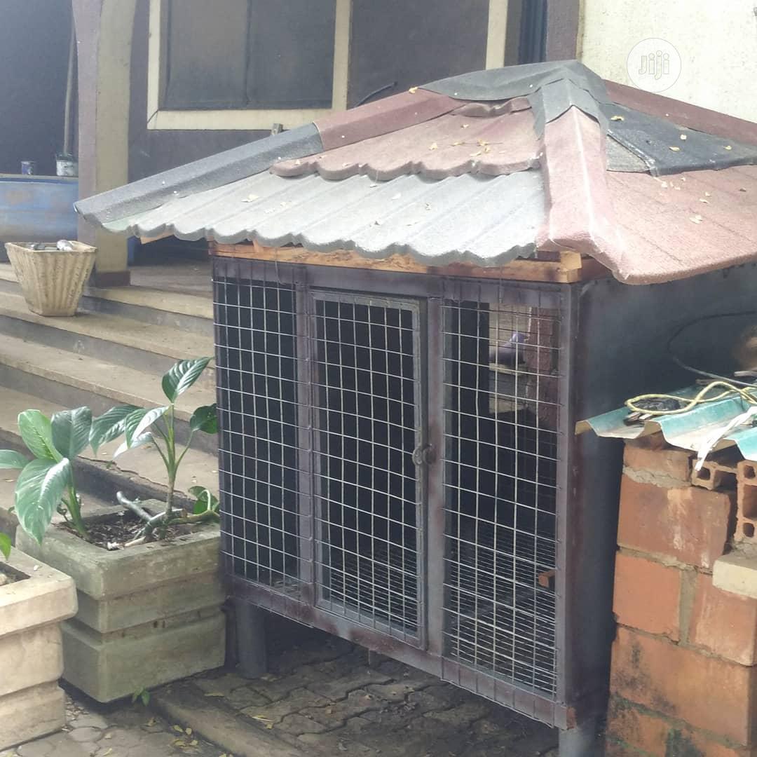 Galvanized Dog Cage | Pet's Accessories for sale in Kubwa, Abuja (FCT) State, Nigeria
