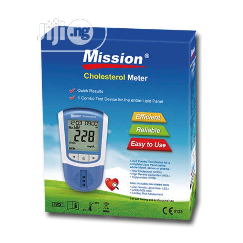 Mission Cholesterol Testing System