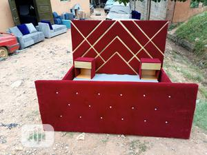 Bedframes With Bedside Drawers. 6gby6feet - King's Size   Furniture for sale in Lagos State, Agege