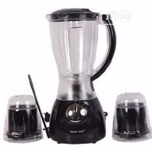 Master Chef Blender With 2 Mill -Mc-B145 | Kitchen Appliances for sale in Lagos State, Ikeja