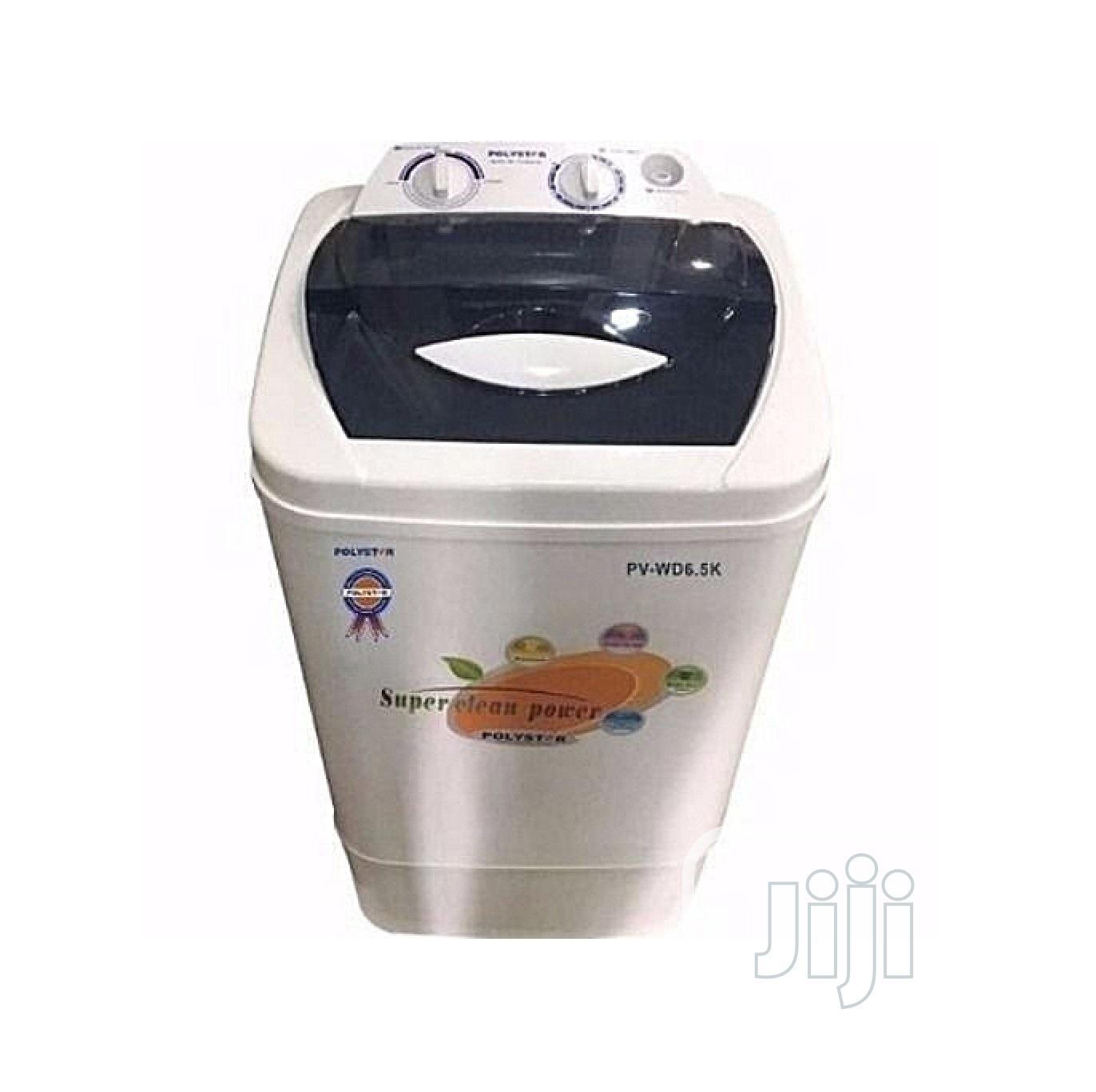 Polystar 6.5kg Manual Washing Machine Pv-Wd6.5kg N14