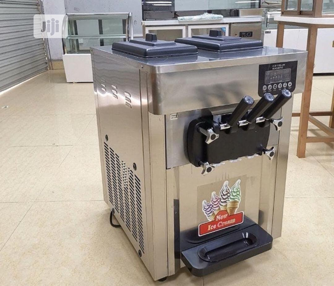 Archive: Table Top Imported Ice Cream Machine