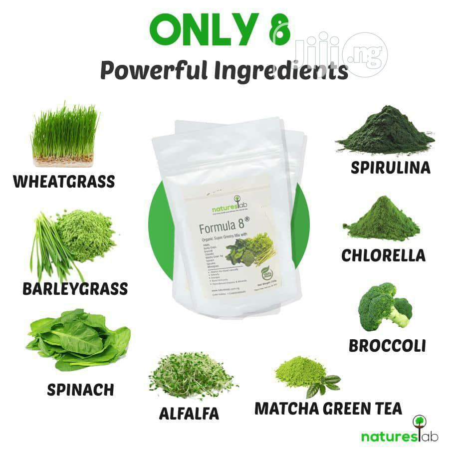 Natures Lab Formula 8 Superfoods Greens Mix (250g)