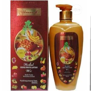 Almond Herbal Super White Lotion | Skin Care for sale in Lagos State, Lagos Island (Eko)