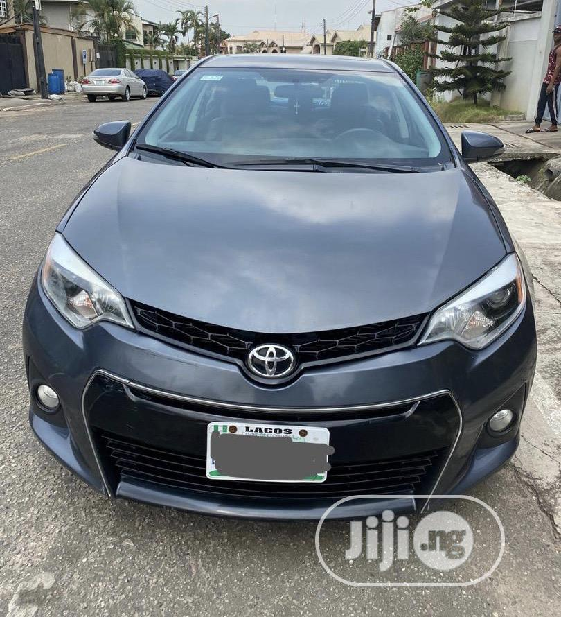 Toyota Corolla 2014 Gray In Ikeja Cars Enny Kenny Jiji Ng For Sale In Ikeja Buy Cars From Enny Kenny On Jiji Ng