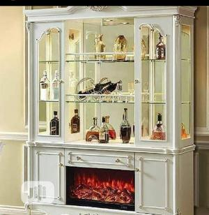 Wine Bar With Fire Place With Remote Control Available Now | Furniture for sale in Lagos State, Ajah