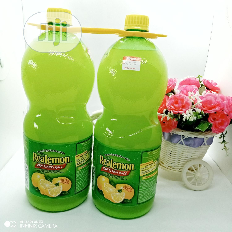 Archive: Real Lemon Juice