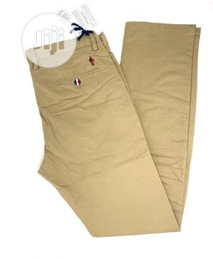 Moncler Chinos Trousers Original | Clothing for sale in Lagos State, Surulere