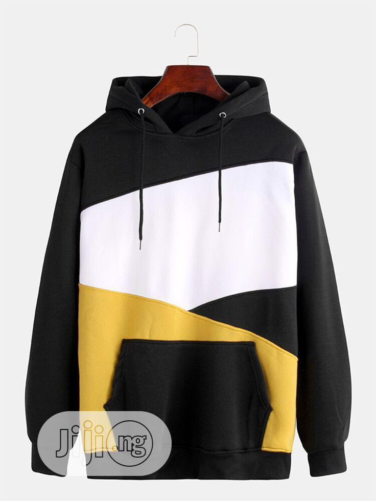 Block Color Hoodies for Adult and Kids