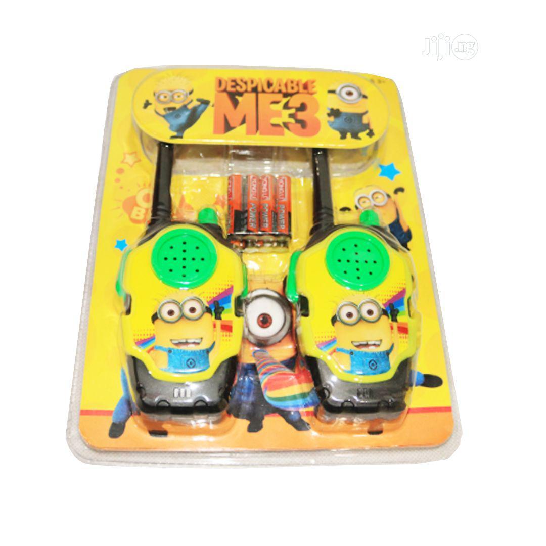 Despicable Me Minion Walkie-Talkie | Toys for sale in Lagos Island (Eko), Lagos State, Nigeria
