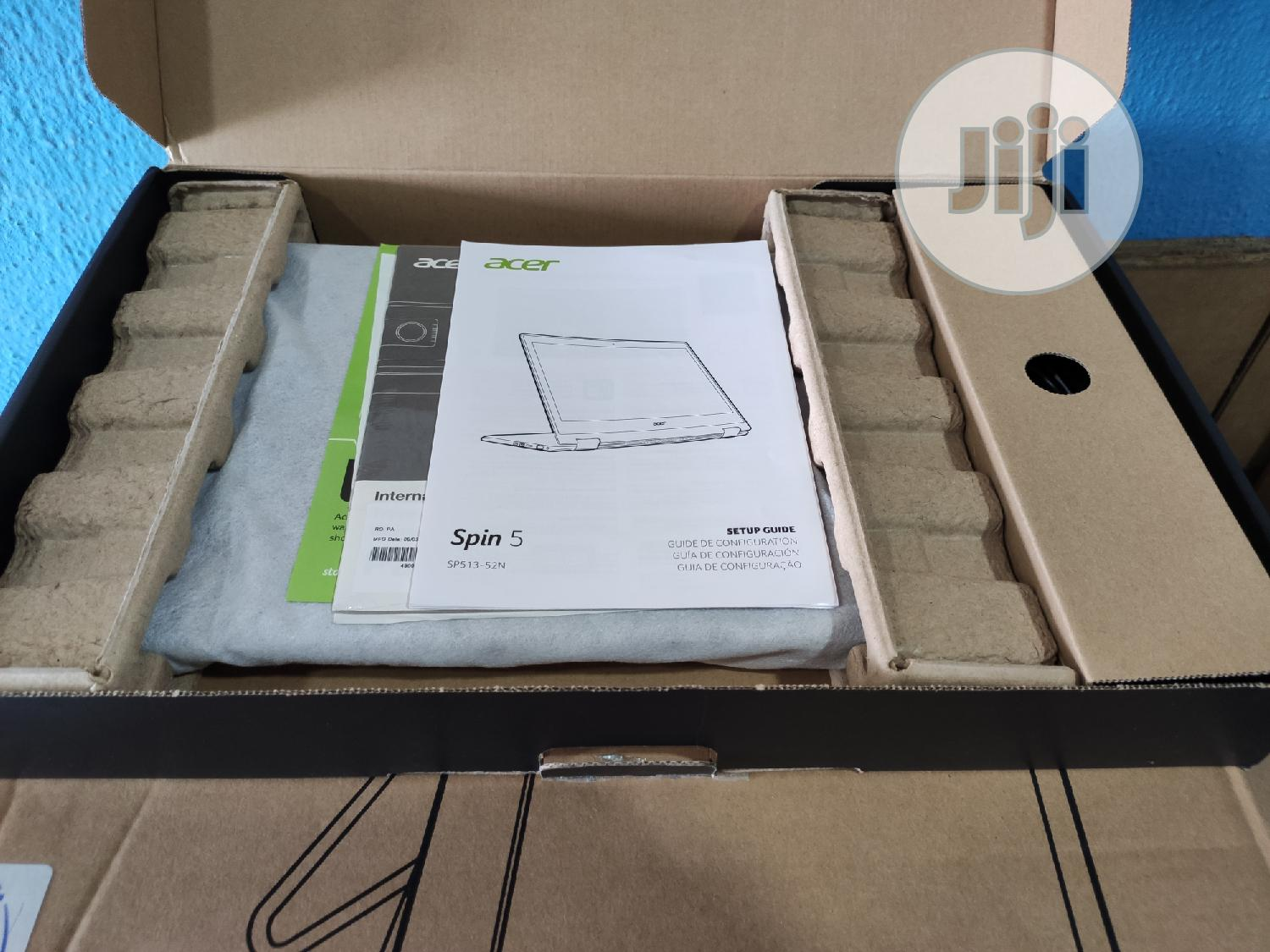 Archive: New Laptop Acer Spin 5 8GB Intel Core i5 SSD 256GB
