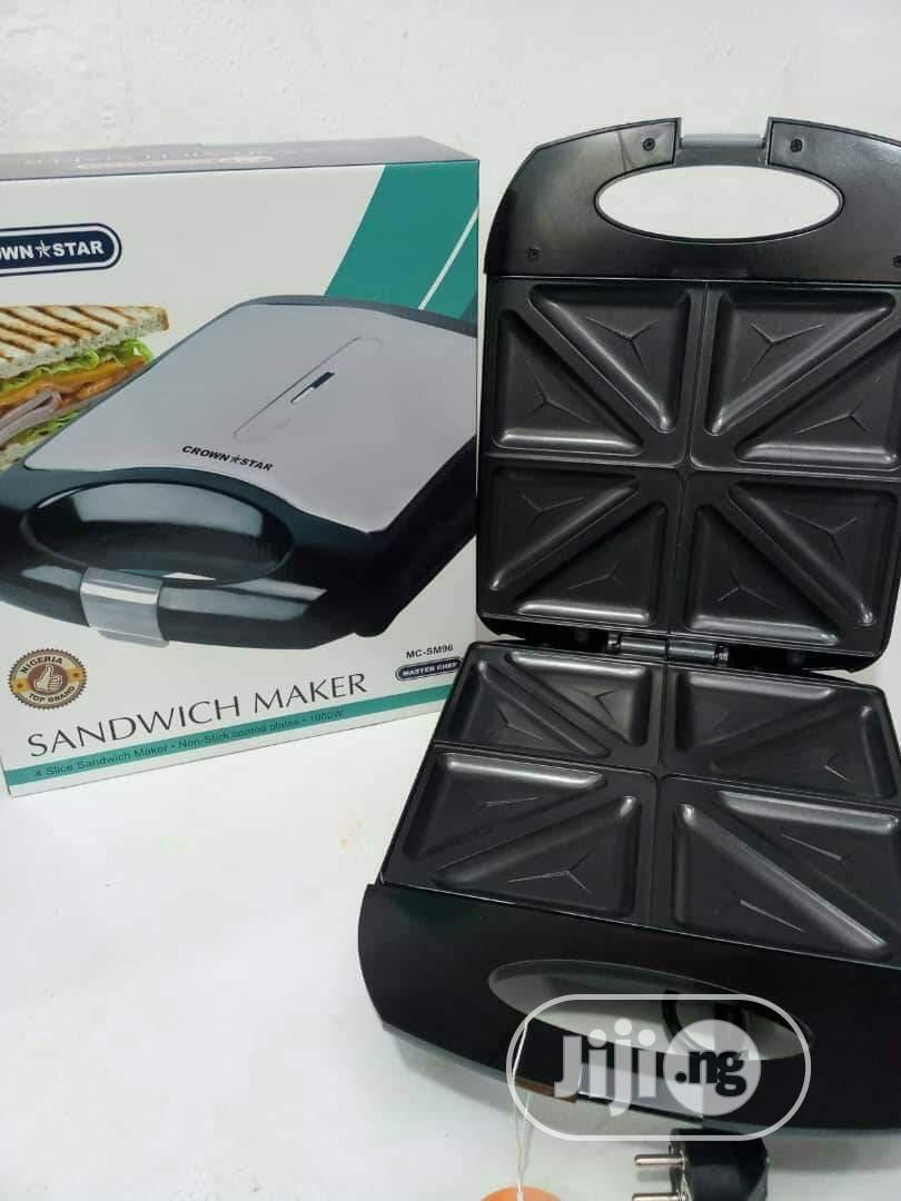 Archive: Sandwich Maker/Toaster