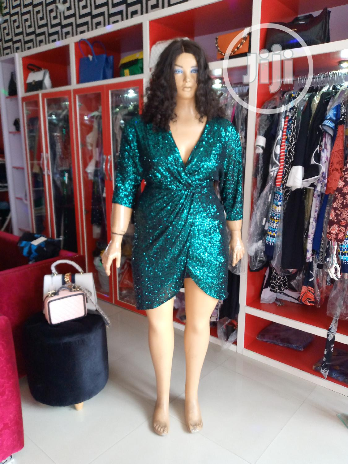 Turky Explosion Sequence Overlap Dress | Clothing for sale in Amuwo-Odofin, Lagos State, Nigeria