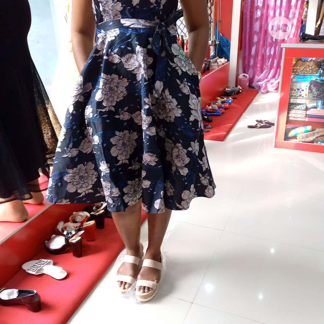 Floral Flare Dress | Clothing for sale in Amuwo-Odofin, Lagos State, Nigeria