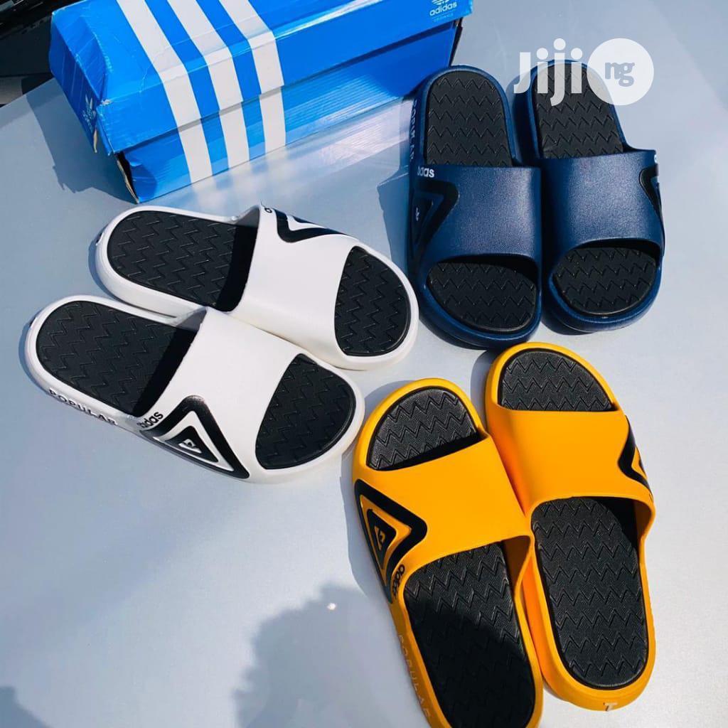 Adidas Popular Slides | Shoes for sale in Oshodi, Lagos State, Nigeria