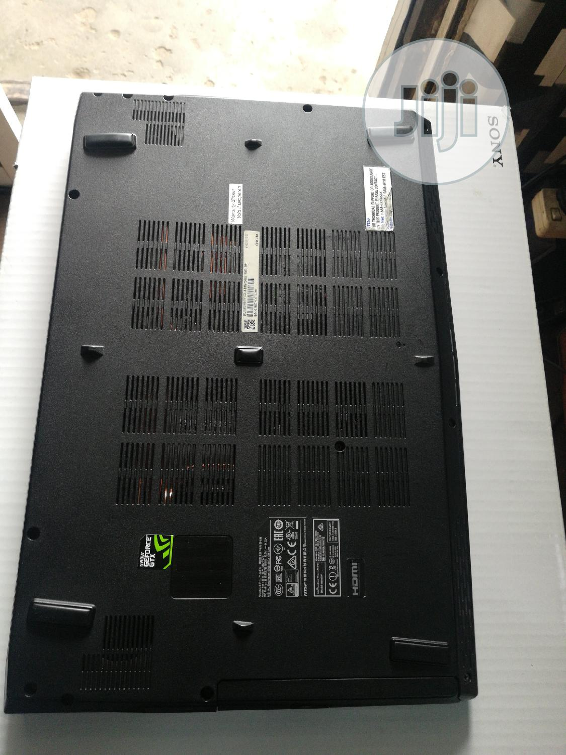 Laptop MSI GS63VR 7RG Stealth Pro 12GB Intel Core i7 HDD 1T | Laptops & Computers for sale in Ikeja, Lagos State, Nigeria