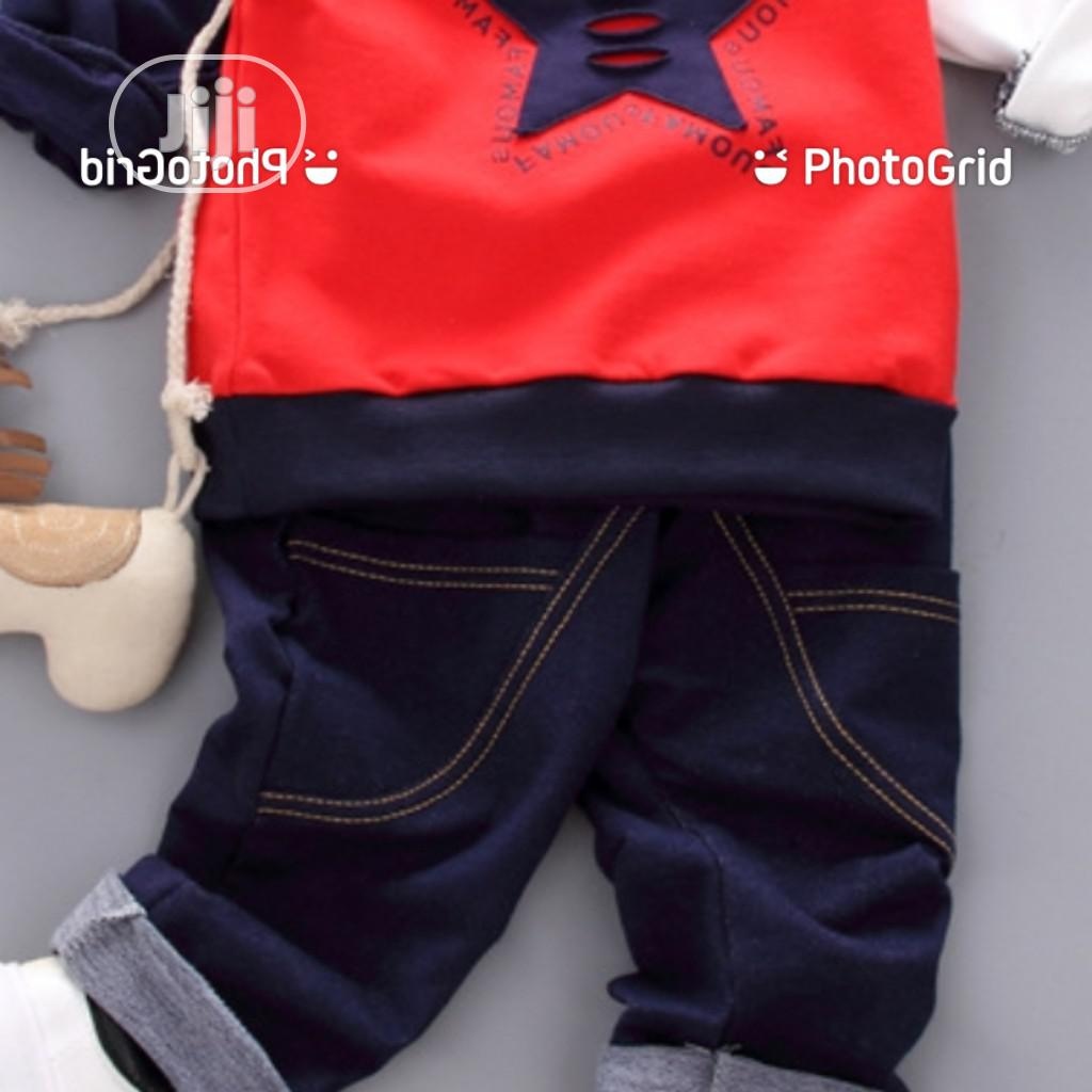 Famous Designer Top Quality Polo and Jean Set for Sweet Boys | Children's Clothing for sale in Victoria Island, Lagos State, Nigeria