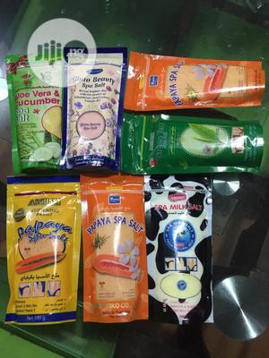 Argussy, Yoko And YC Spa Salt Scrub Bath | Bath & Body for sale in Lagos State, Ikorodu