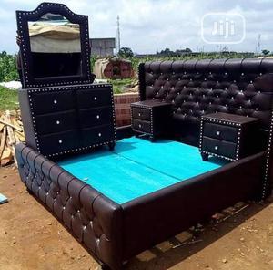 Luxury Modern Bed Frame   Furniture for sale in Lagos State, Ikorodu