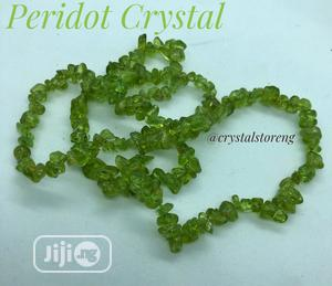 Peridot Crystal Healing Stone   Jewelry for sale in Lagos State, Alimosho