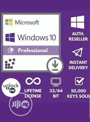 Windows 10 Professional Pro Product Activation Key 32/64 Bit | Software for sale in Lagos State, Ikeja