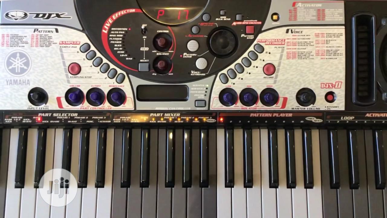 Djx 2 Yamaha Keyboard for Professionals | Musical Instruments & Gear for sale in Mushin, Lagos State, Nigeria