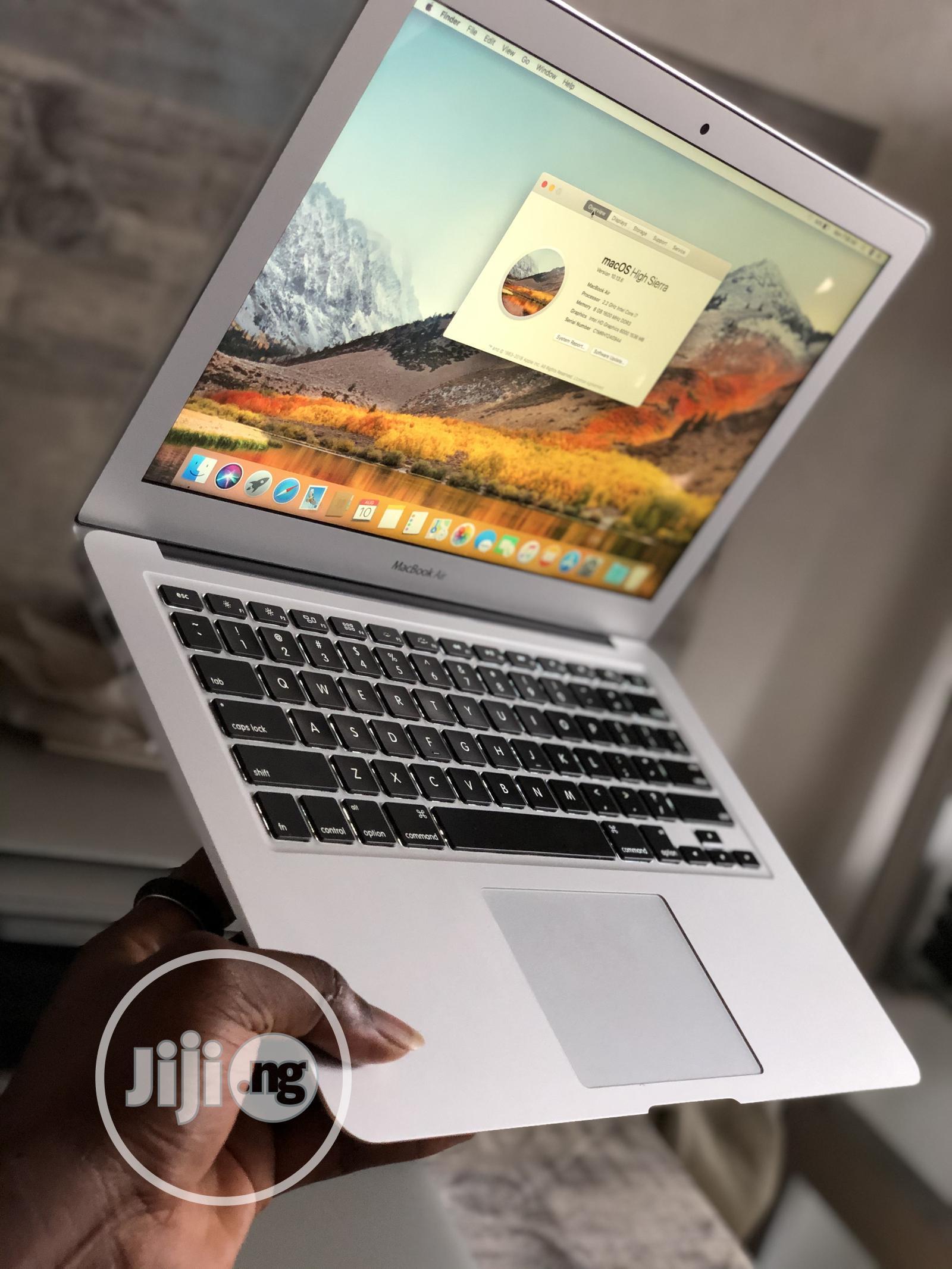Laptop Apple MacBook Air 8GB Intel Core i7 SSD 256GB | Laptops & Computers for sale in Lekki, Lagos State, Nigeria