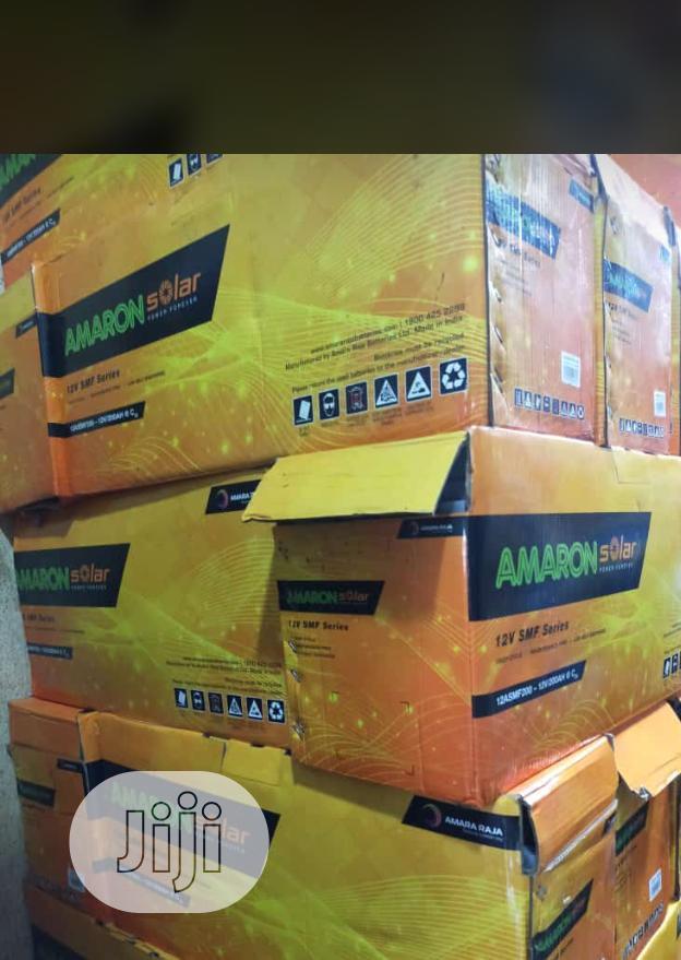 12v/200ah Amaron Solar Battery