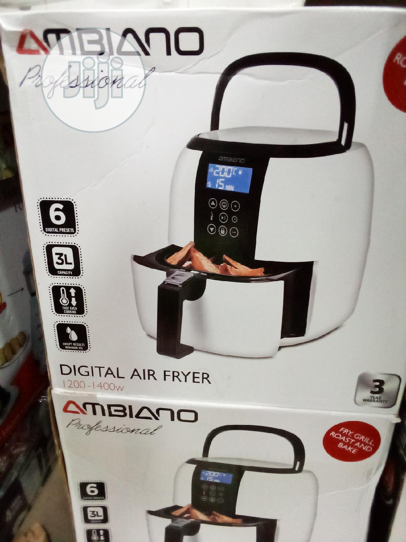 Ambiano Air Fryer In Lagos Island Eko Kitchen Appliances Unique Kitchen Jiji Ng
