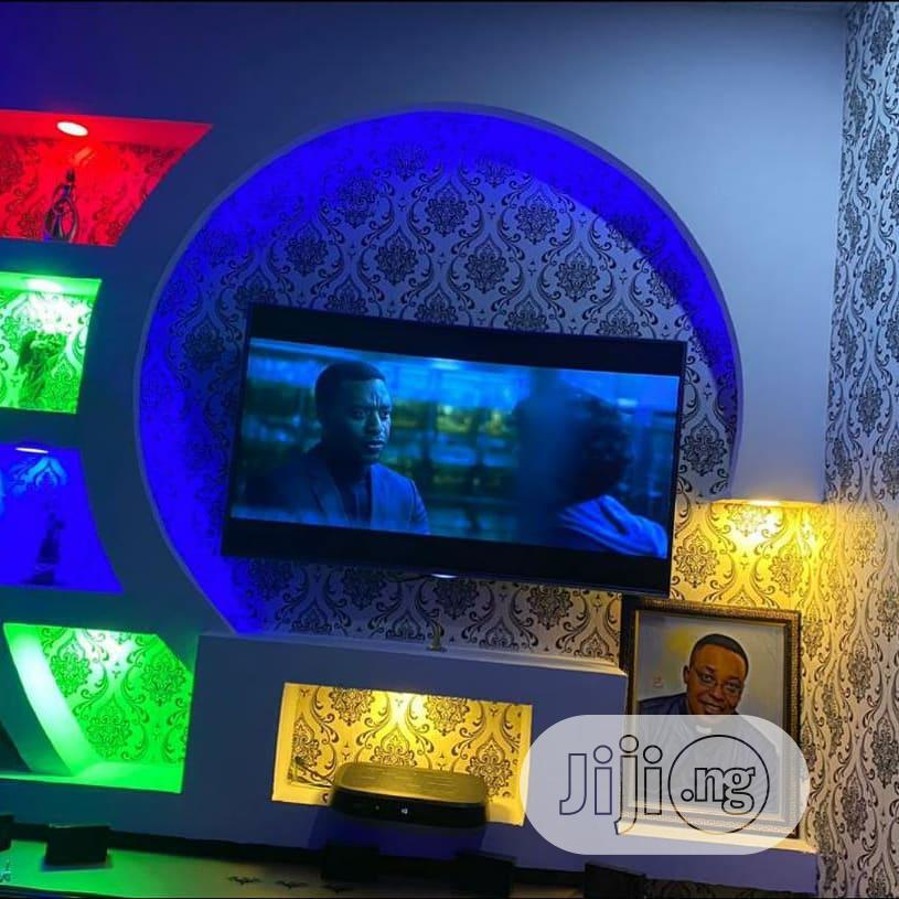 Pop Ceiling, Wall Screeding, Tv Wall Design,Painting ,
