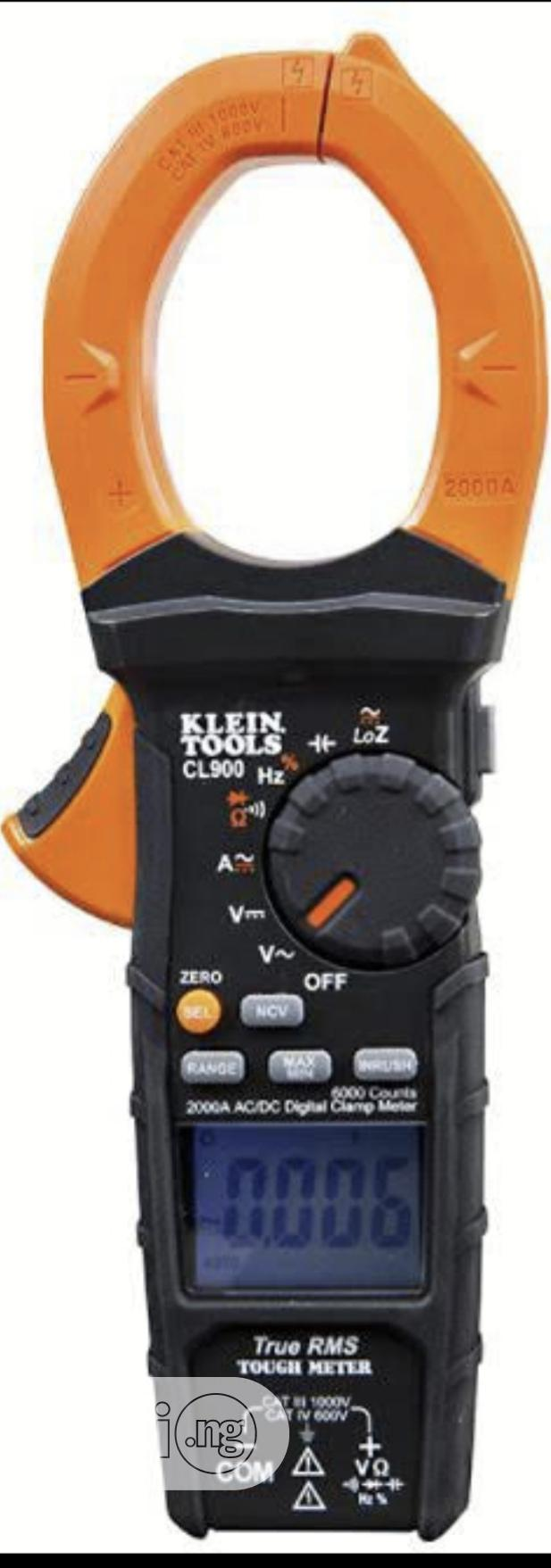 Klein Tools CL900 2000A AC-DC Clamp Meter | Measuring & Layout Tools for sale in Amuwo-Odofin, Lagos State, Nigeria