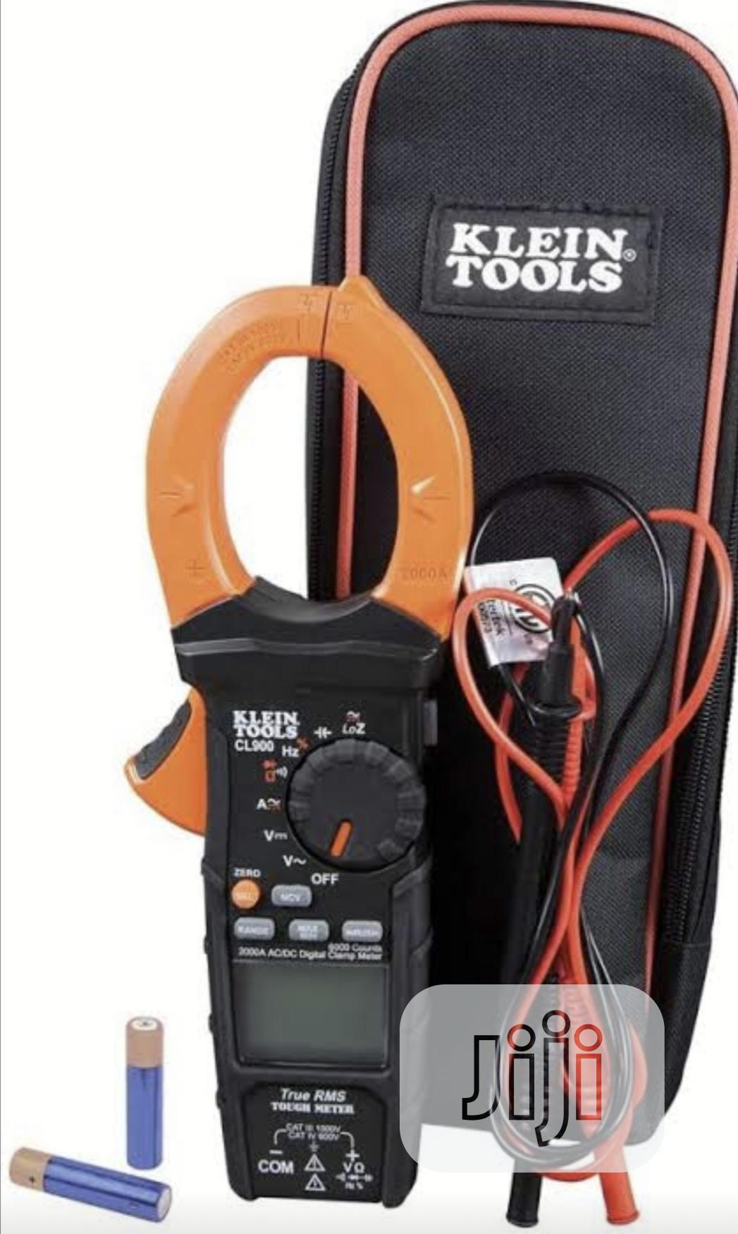 Klein Tools CL900 2000A AC-DC Clamp Meter